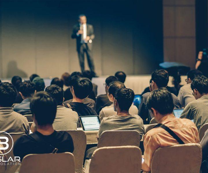 Firmenfeier - eine Rede halten